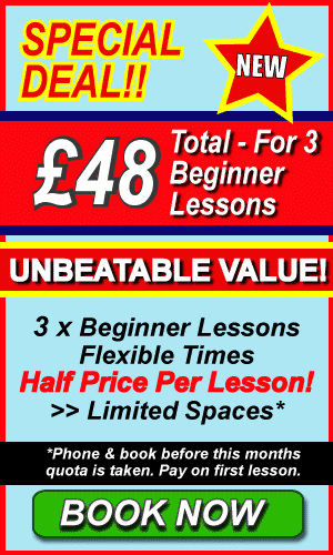 Special Offer Beginner Driving Deal