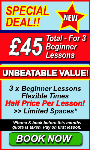 Driving Lessons Price Deal